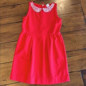 CREWCUTS size 8 Red Holiday Dress